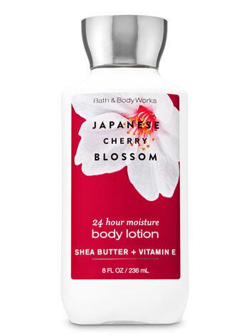 Sữa dưỡng thể hương nước hoa Sưu tầm bộ cherry blossom bath & body works