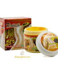 Kem tan mỡ gừng FLOURISH Thái Lan