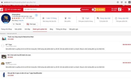 sendo shopmyhoa.com