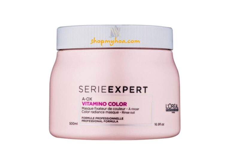 hấp dầu giữ màu tóc nhuộm loreal mỹ