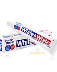 kem đánh trắng răng white white