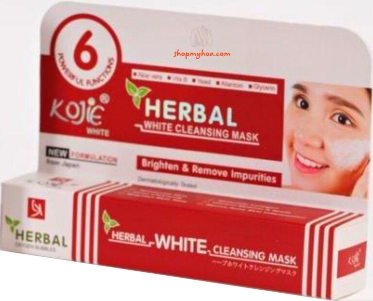 Mặt nạ ủ trắng mặt Nhật Bản Kojie thảo dược