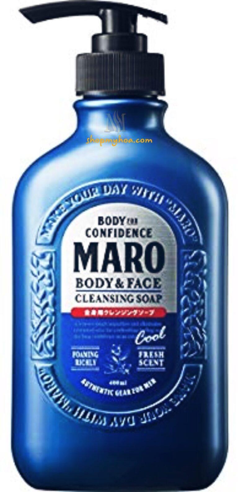 Sữa tắm MARO cho nam giới