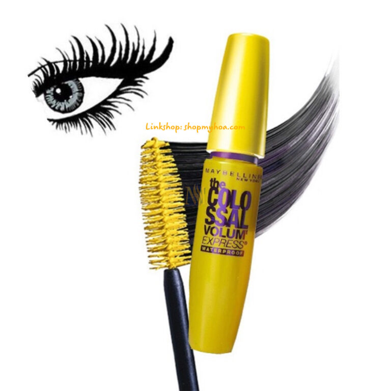 Mascara Maybelline The Colossal Volum' Express Waterproof