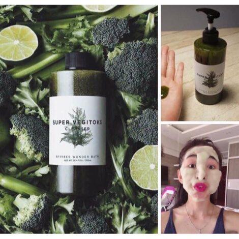 Sữa rửa mặt thải độc rau củ Byvibes Wonder Bath Super Vegitoks Cleanser 200ml