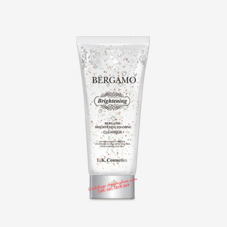 Sữa rửa mặt Bergamo trắng da