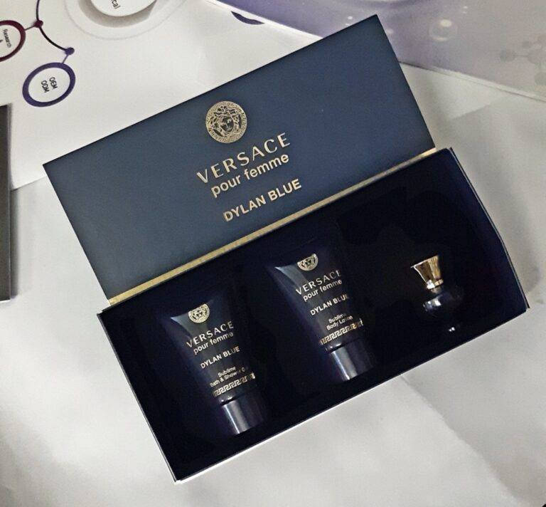 SET NƯỚC HOA VERSACE DYLAN BLUE MINI 3PC