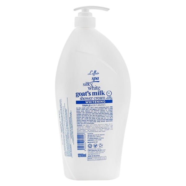 Sữa tắm dê trắng mịn da Laffair