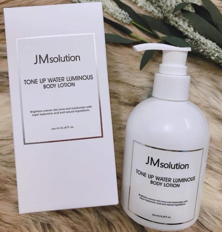 Sữa dưỡng thể dưỡng trắng JMsolution Tone Up