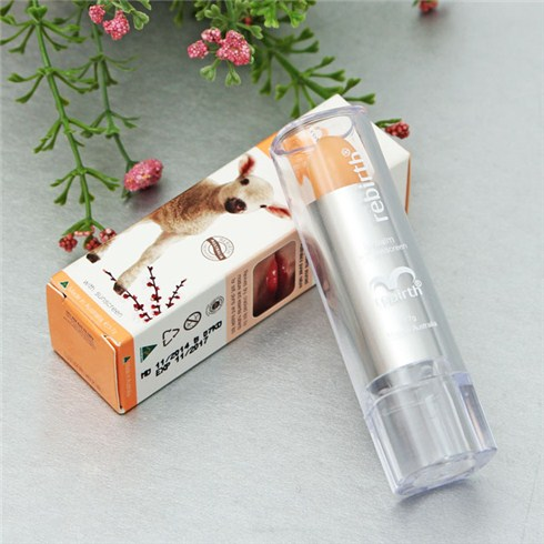 Son dưỡng môi nhau thai cừu Rebirth Vanilla Lip Blalm 3.7G
