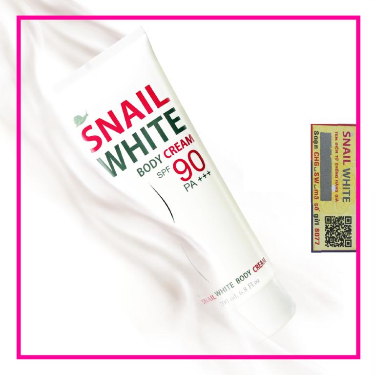 SỮA DƯỠNG TRẮNG DA TOÀN THÂN SNAIL WHITE SPF90