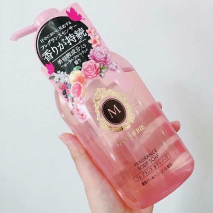 Sữatắm Shiseido MaCherie dùng được cho bà bầu