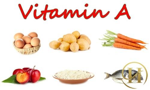 vitamin a tốt cho da
