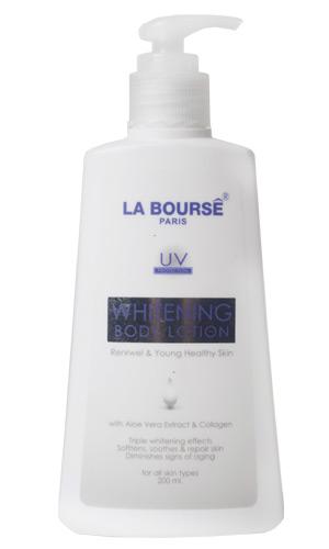 Dưỡng Thể Trắng Da Cao Cấp Của Pháp La Bourse Whitening
