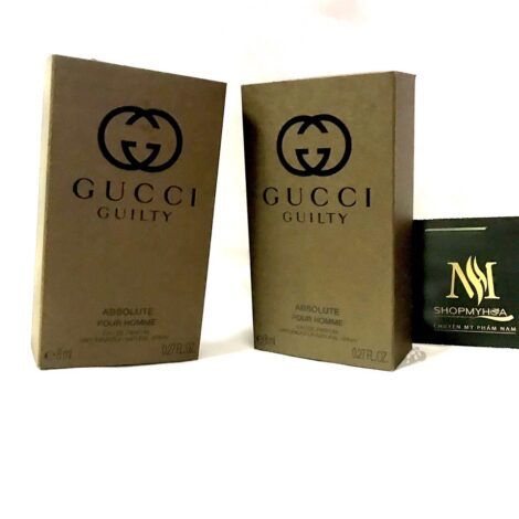 Nước hoa nam Gucci Guilty Absolute Ở LONG AN 8ML