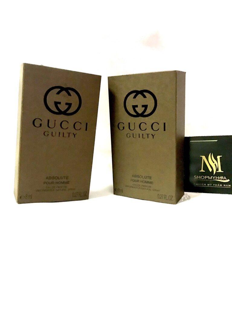 Nước hoa nam Gucci Guilty Absolute Ở LONG AN 8ML