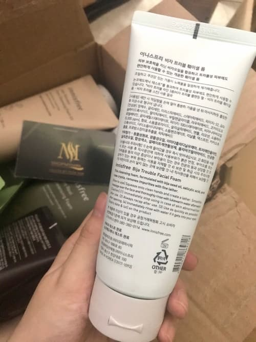 mua sua rua mat innisfree chinh hang o long an
